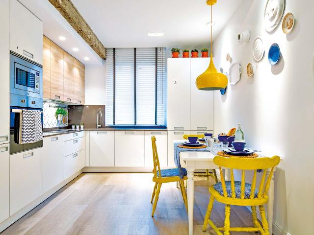 Una vivienda colorida en Bilbao
