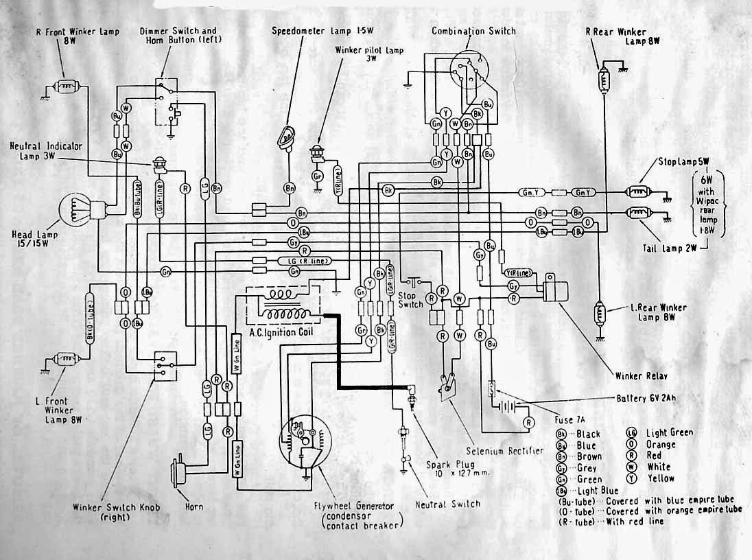 Wiring Diagrams and Free Manual Ebooks: Classic Honda C110