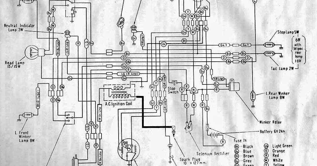 Wiring Diagrams And Free Manual Ebooks  Classic Honda C110