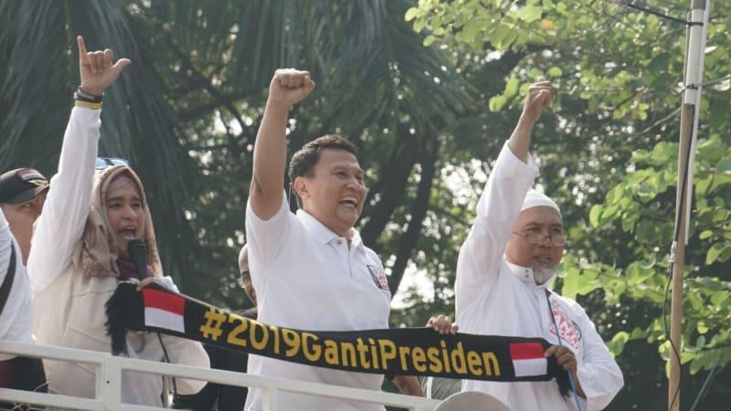 Partai Ini Sebut Gerakan #2019GantiPresiden Dilarang Islam