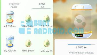 Cara Menetaskan Telur di Pokemon Go dan Jenisnya