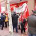 Los trabajadores de Amazon llevan sus protestas a las ETT por el despido de huelguistas