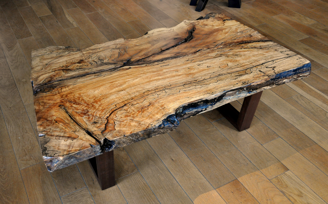 how to find spalted wood