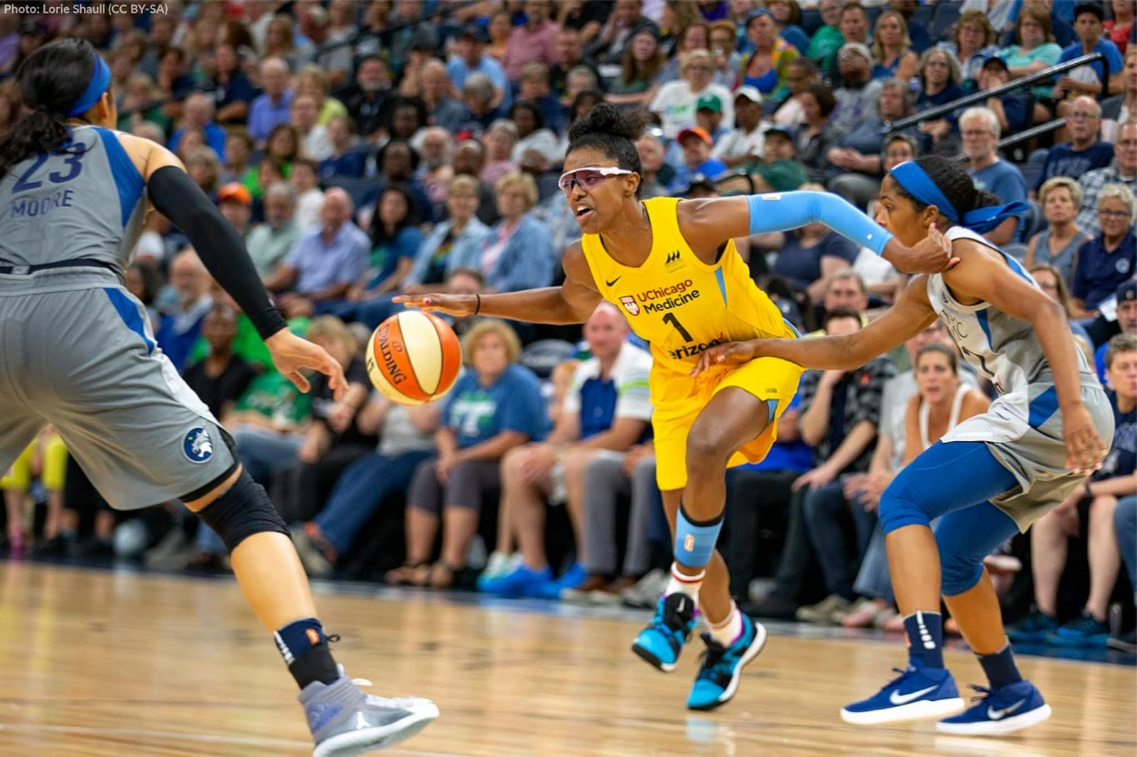 DeShields struggled for years with distorted vision caused by keratoconus even as she played basketball at a world-class level.