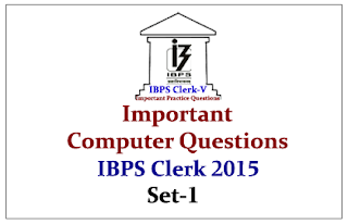 Race IBPS Clerk 2015- Important Computer Questions Set-1