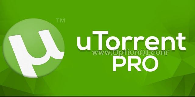 تحميل تطبيق uTorrent Pro للأندرويد مجانا أخر إصدار يو تورنت برو  لتحميل ملفات التونت بسرعه رهيبه .