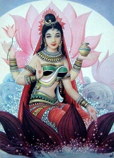 Hindu Goddess anumati photo
