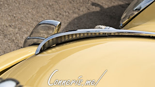 Porsche 356 C Hood Ornament Side
