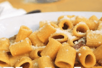 HOW TO MAKE RIGATONI CARBONARA