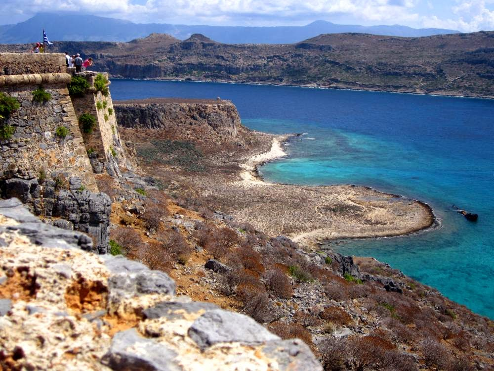 Beaches of Gramvoussa in Crete