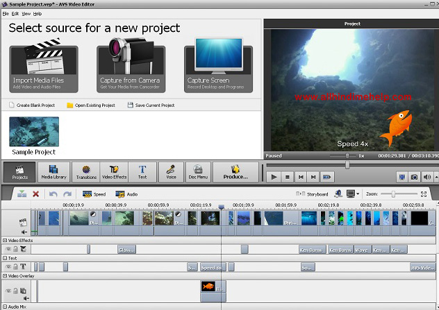 AVS VIDEO EDITORS Free