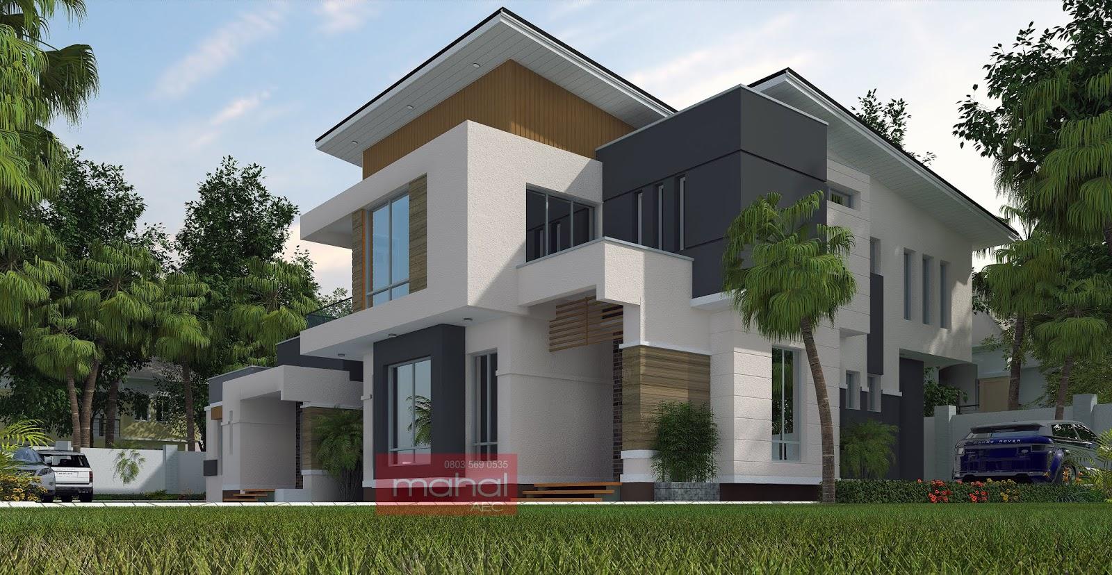 Uruagwu chv 4 bedroom duplex with 2 bedroom bungalow