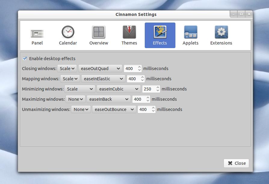 Cinnamon 1 2 Released With Desktop Effects, Multiple