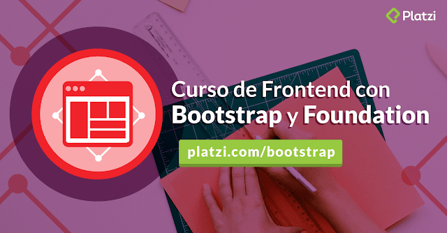Curso Frontend con Bootstrap y Foundation (Platzi) MEGA