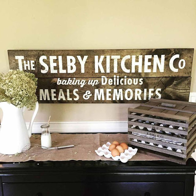 Wooden Signs For Kitchen