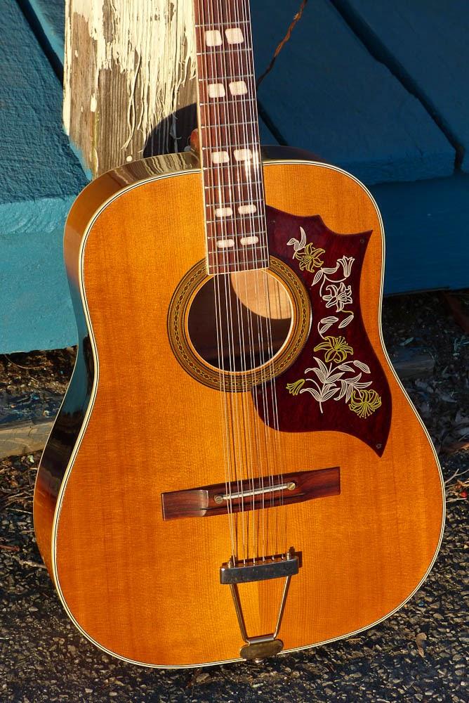 japanese made ensenada gt83g 12 string guitar. Black Bedroom Furniture Sets. Home Design Ideas