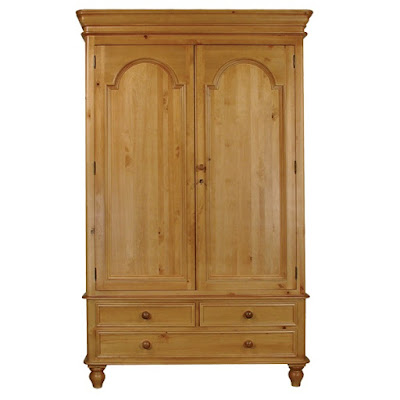 Teak Minimalist waredrobe and Armoire 2 door furniture,interior classic furniture code 109