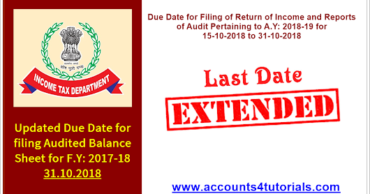 date for filing itr ay 2018-19