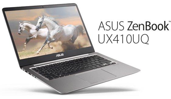 Asus ZenBook UX410UQ Laptop Pilihan Creator