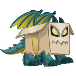Appearance of Box Dragon when baby
