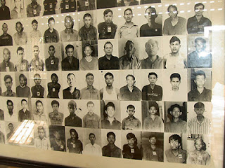 Pictures of the Cambodians murdered by the Khmer Rouge