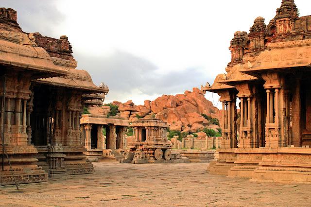 Vittala Temple Complex, Hampi - 15th century AD