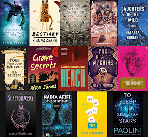 2020 Debut Author Challenge Cover Wars - September 2020 Debuts
