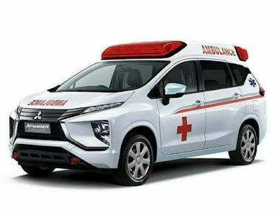 Modifikasi Mitsubishi expander menjadi mobil ambulance