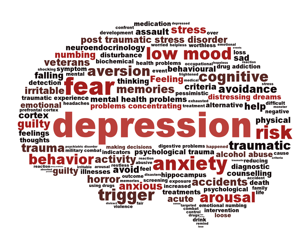 more brain points: sensitivity amongst anxiety and depression