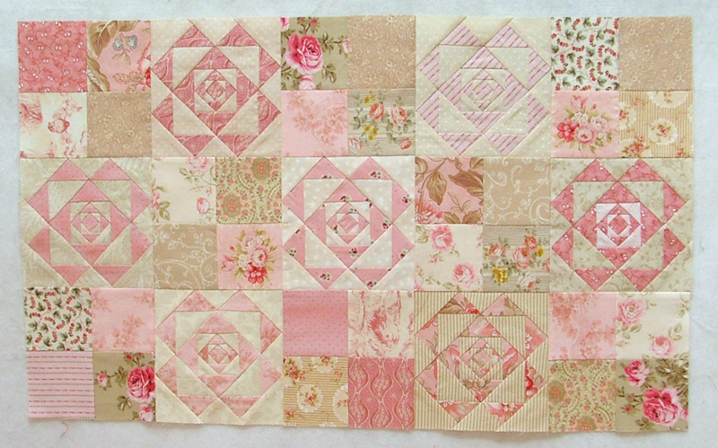 Quilt Crossing: Everything's coming up roses : rose quilt fabric - Adamdwight.com