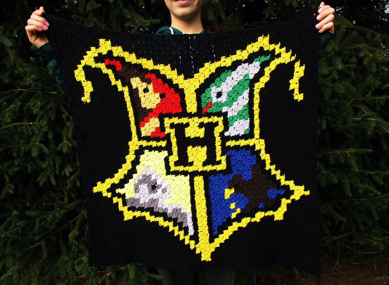 Jaimee Häkelt Eine Kuschlige Harry Potter Graphgan Decke Simply