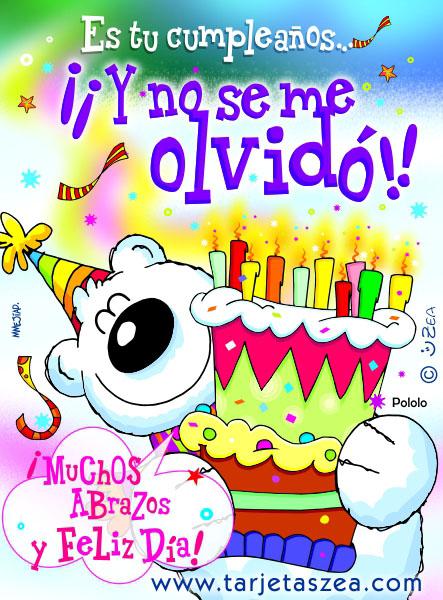 Es tu cumpleaños