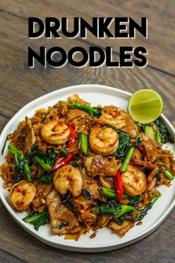 The Best Drunken Noodles
