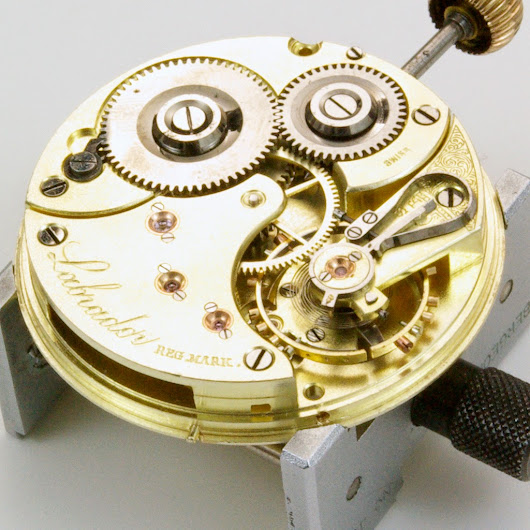 "The Louis Brandt and Frère (Omega) ""Labrador"" movement."