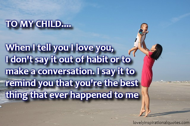 I Love You Son Quotes And Sayings From Mom And Dad