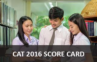 cat 2016 score card