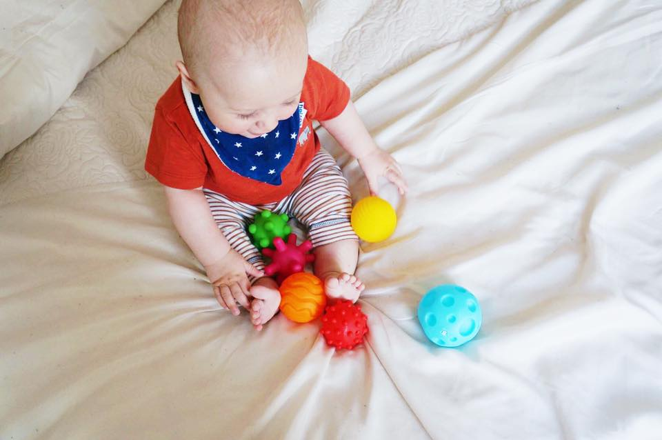 Sensory Play with Infantino BKIDS