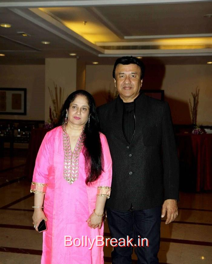 Anju Anu Malik, Anu Malik, Singer Abhijeet Wedding Anniversary Photo Gallery