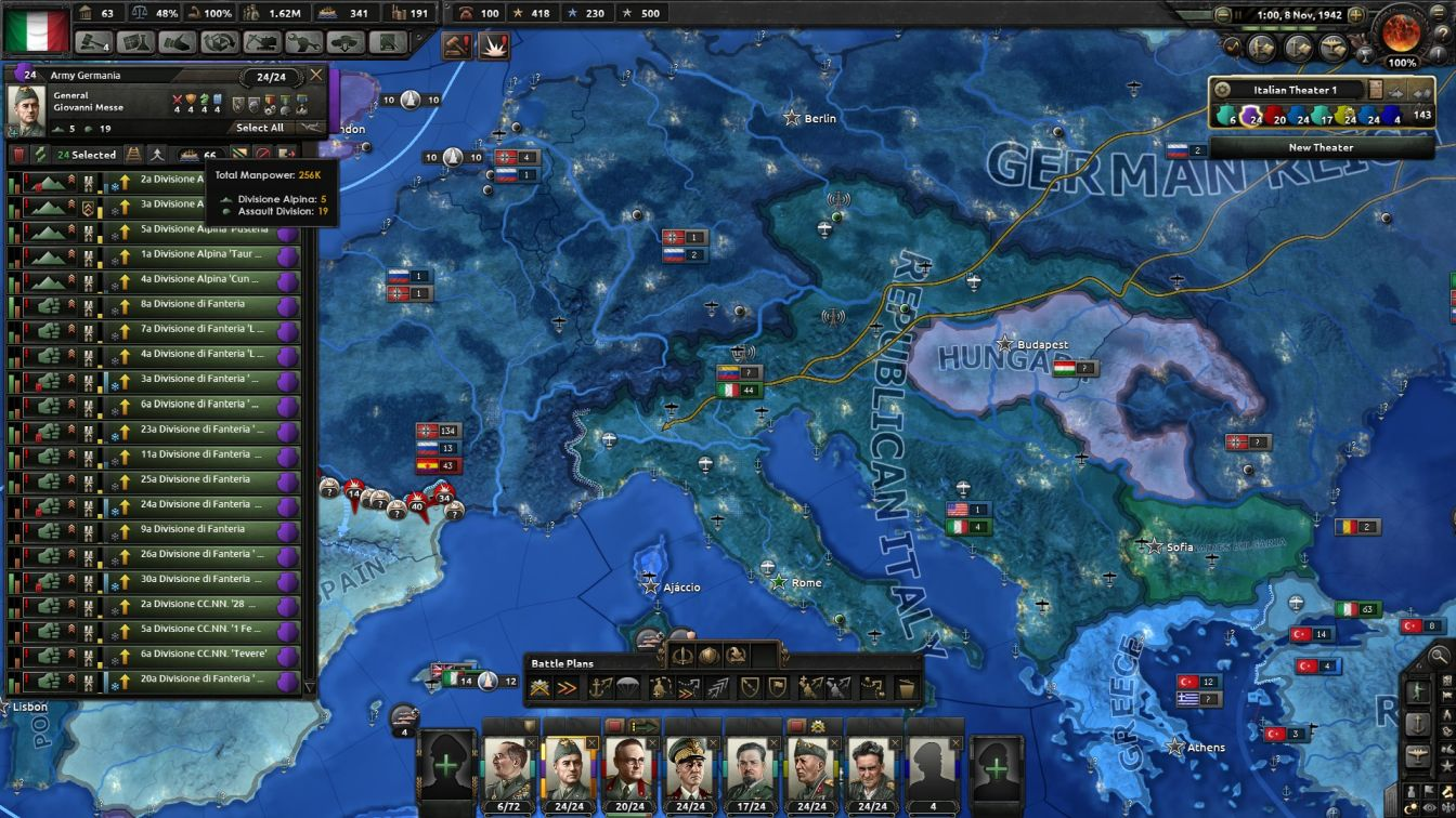 Italy - HOI4 - Changed Realities