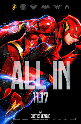 "Justice League ""All In"" Character Movie Poster Set"