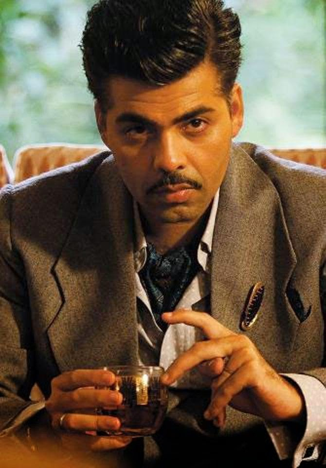 Karan Johar's first look as villain in 'Bombay Velvet' revealed