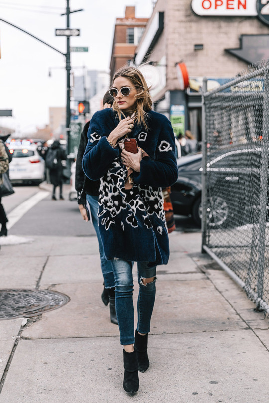 The Olivia Palermo Lookbook Olivia Palermo At New York Fashion Week