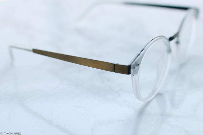 NEWIN TIJN GLASSES Patrick transperent 伊達めがね クリアフレーム眼鏡