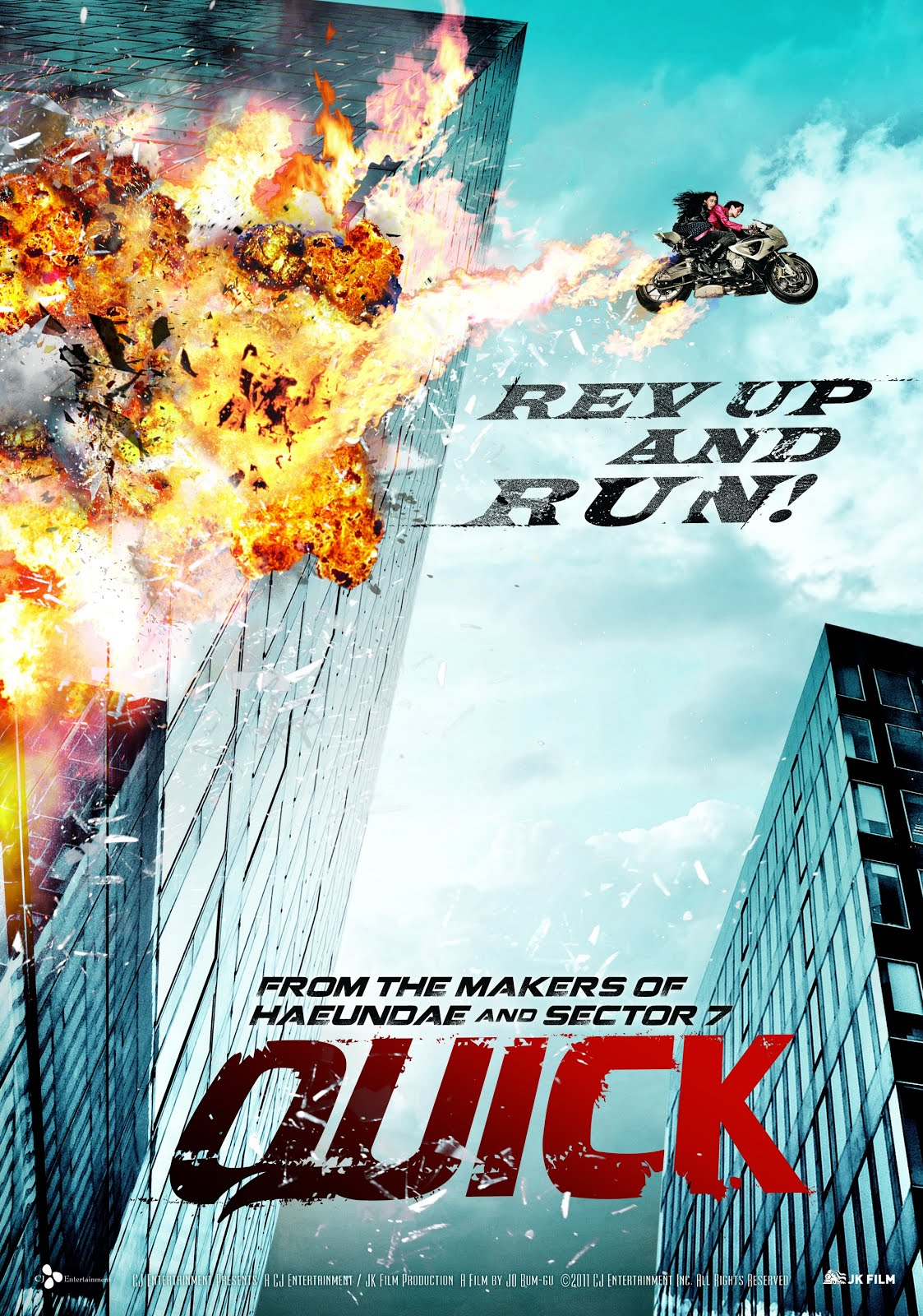 Quick (2011) Hindi Dubbed 720p BluRay 950MB ESubs