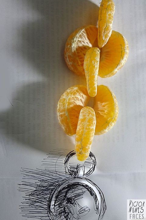 15-Orange-Chain-Victor-Nunes-The-Art-of-Making-and-Drawing-Faces-using-Everything-www-designstack-co
