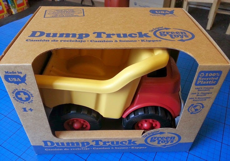 Green Toys Dumper Truck Dump Review