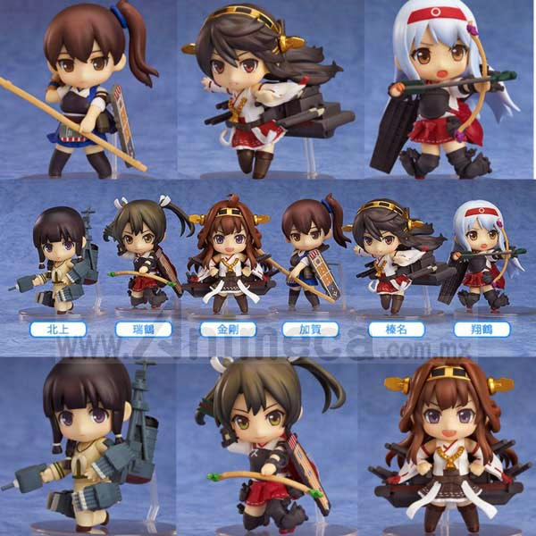 KanColle NENDOROID PETITE 6 Pack Box FIGURE Kantai Collection Good Smile Company