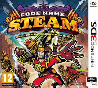 Free Download Code Name S.T.E.A.M 3DS CIA USA