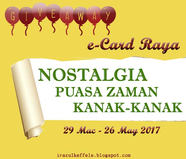 GIVEAWAY RAMADHAN & SYAWAL 2017