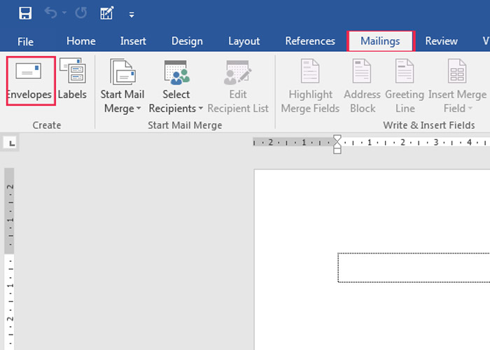 Mailing-Ms-Word
